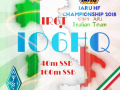IARU IO6HQ Flayer