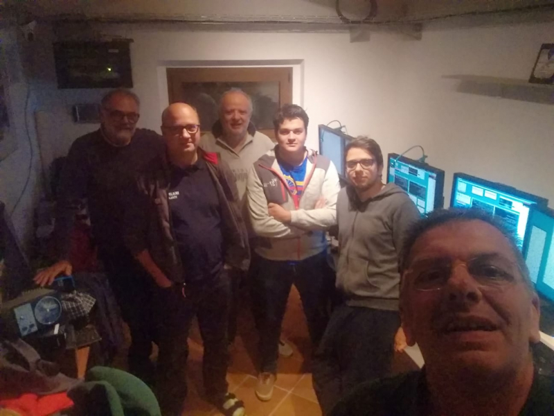 IQ6AN CQ WW RTTY 2018 team
